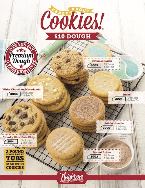Crazy About Cookies $10 Brochure